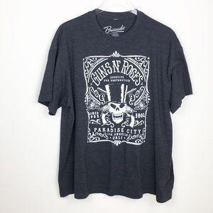 Guns N' Roses 'Paradise City' T-Shirt (Charcoal)